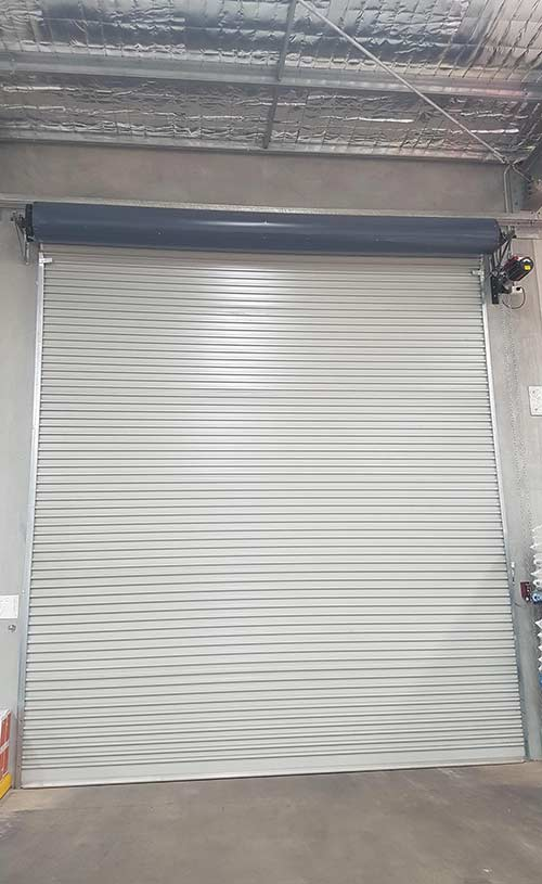 commercial roller door in Perth