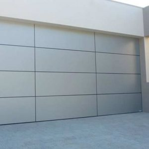A Grade Garage Doors Perth | Shutters & Gates - Silver garage door in Perth, WA