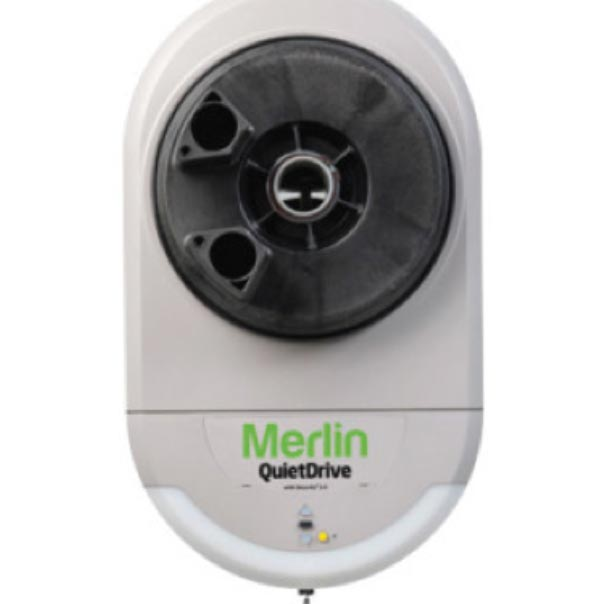 Merlin quiet drive for garage door