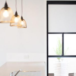 white indoor block out blinds in Perth