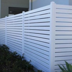 white home fence in Perth