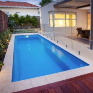 pool with beautiful gate in Perth