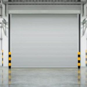 big industrial garage door