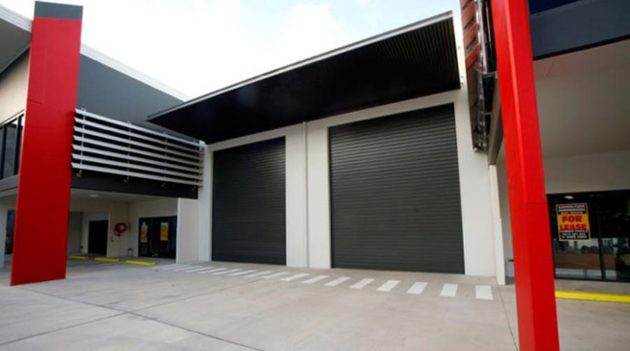 industrial garage door in Perth