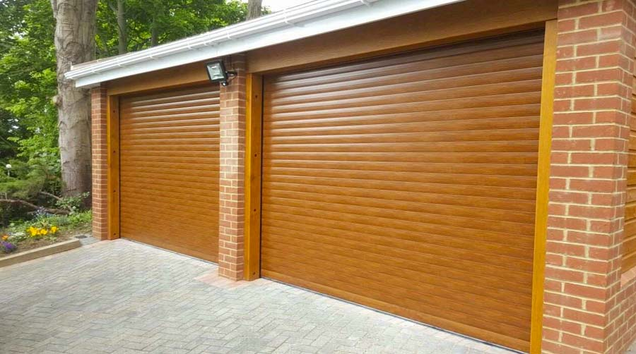 A Grade Garage Doors Perth | Shutters & Gates - Brown custom garage door in Perth, WA