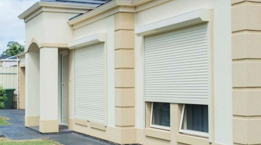 Residential roller shutters in Perth
