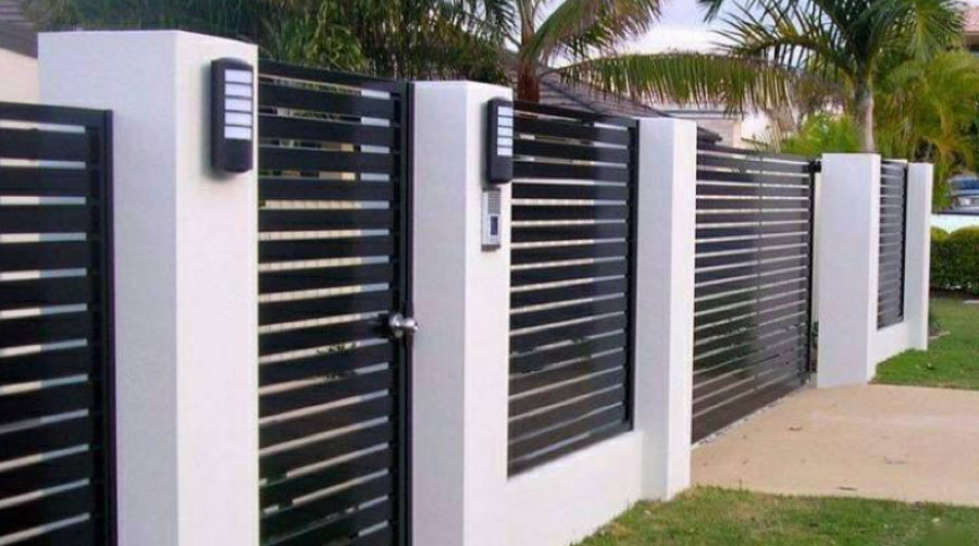 A Grade Garage Doors Perth | Shutters & Gates - Secured fence in Perth, WA