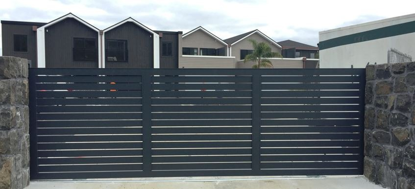 Commercial automated gate in Perth